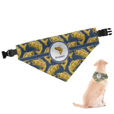 Fish Dog Bandana (Personalized)