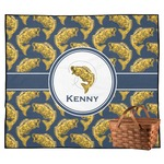 Fish Outdoor Picnic Blanket (Personalized)