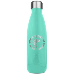 Fish RTIC Bottle - Teal (Personalized)