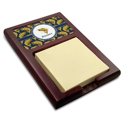 Fish Red Mahogany Sticky Note Holder (Personalized)