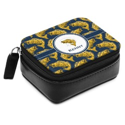 Fish Small Leatherette Travel Pill Case (Personalized)