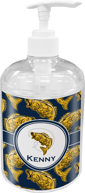 Fish soap lotion dispenser personalized youcustomizeit for Fish soap dispenser