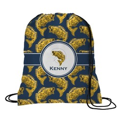 Fish Drawstring Backpack (Personalized)