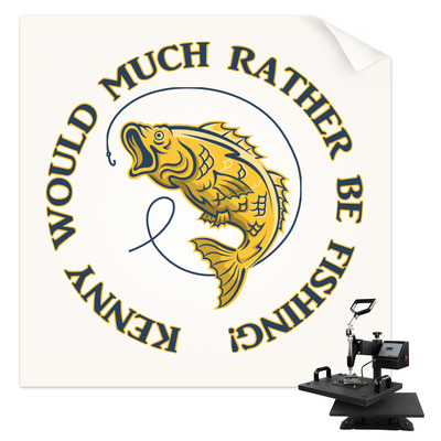 Fish Sublimation Transfer (Personalized)