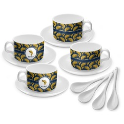 Fish Tea Cup - Set of 4 (Personalized)
