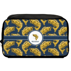 Fish Toiletry Bag / Dopp Kit (Personalized)