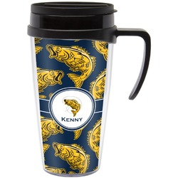 Fish Travel Mug with Handle (Personalized)