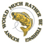 Fish Graphic Decal - Custom Sizes (Personalized)