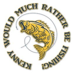 Fish Graphic Decal - Custom Sized (Personalized)