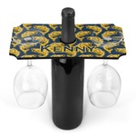 Fish Wine Bottle & Glass Holder (Personalized)