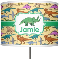 """Dinosaurs 13"""" Drum Lamp Shade (Personalized)"""