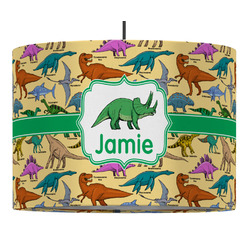Dinosaurs Drum Pendant Lamp (Personalized)
