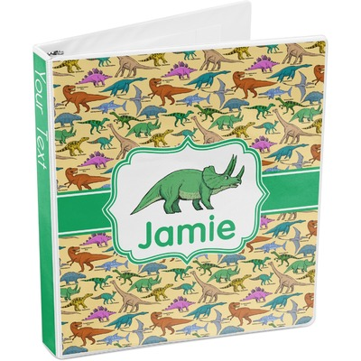 Dinosaurs 3-Ring Binder (Personalized)