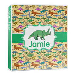 Dinosaurs 3-Ring Binder - 1 inch (Personalized)