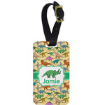 Dinosaurs Metal Luggage Tag w/ Name or Text