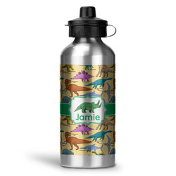 Dinosaurs Water Bottle - Aluminum - 20 oz (Personalized)