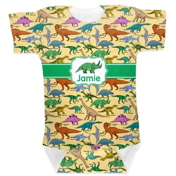 Dinosaurs Baby Bodysuit (Personalized)