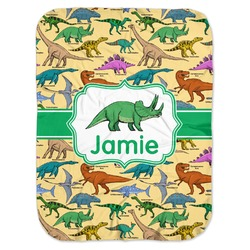 Dinosaurs Baby Swaddling Blanket (Personalized)