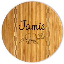 Dinosaurs Bamboo Cutting Board (Personalized)