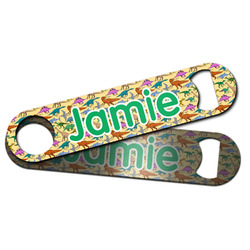 Dinosaurs Bar Bottle Opener w/ Name or Text