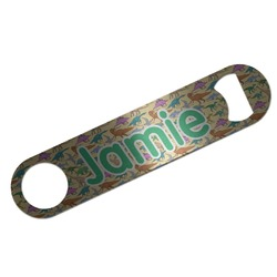 Dinosaurs Bar Bottle Opener (Personalized)