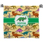 Dinosaurs Full Print Bath Towel (Personalized)