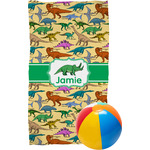 Dinosaurs Beach Towel (Personalized)