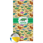 Dinosaurs Beach Towel (Personalized)
