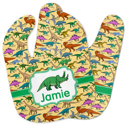 Dinosaurs Baby Bib w/ Name or Text