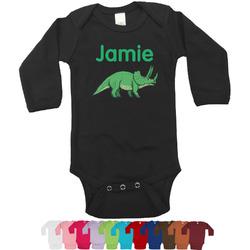 Dinosaurs Bodysuit - Black (Personalized)