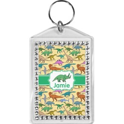 Dinosaurs Bling Keychain (Personalized)