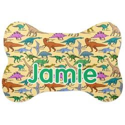 Dinosaurs Bone Shaped Dog Food Mat (Personalized)