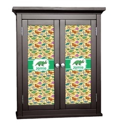 Dinosaurs Cabinet Decal - Custom Size (Personalized)
