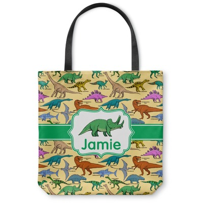 Dinosaurs Canvas Tote Bag (Personalized)
