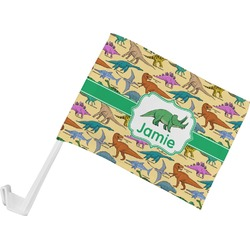 Dinosaurs Car Flag (Personalized)