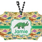 Dinosaurs Rear View Mirror Ornament (Personalized)