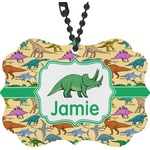 Dinosaurs Rear View Mirror Charm (Personalized)