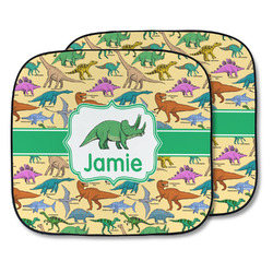 Dinosaurs Car Sun Shade - Two Piece (Personalized)