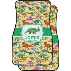 Dinosaurs Car Floor Mats (Front Seat) (Personalized)
