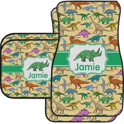 Dinosaurs Car Floor Mats (Personalized)