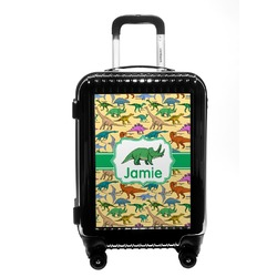 Dinosaurs Carry On Hard Shell Suitcase (Personalized)