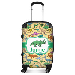 """Dinosaurs Suitcase - 20"""" Carry On (Personalized)"""