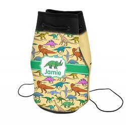 Dinosaurs Neoprene Drawstring Backpack (Personalized)