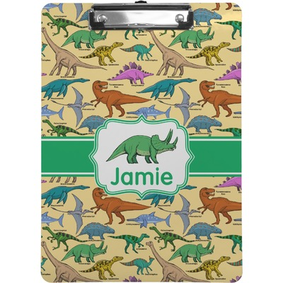 Dinosaurs Clipboard (Personalized)