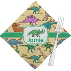 Dinosaurs Napkins (Set of 4) (Personalized)