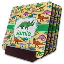 Dinosaurs Coaster Set w/ Stand (Personalized)