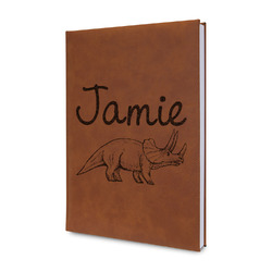 Dinosaurs Leatherette Journal (Personalized)
