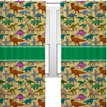 Dinosaurs Curtains (2 Panels Per Set) (Personalized)