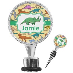 Dinosaurs Wine Bottle Stopper (Personalized)