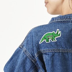 Dinosaurs Large Custom Shape Patch (Personalized)